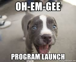 Oh-Em-Gee, Program Launch