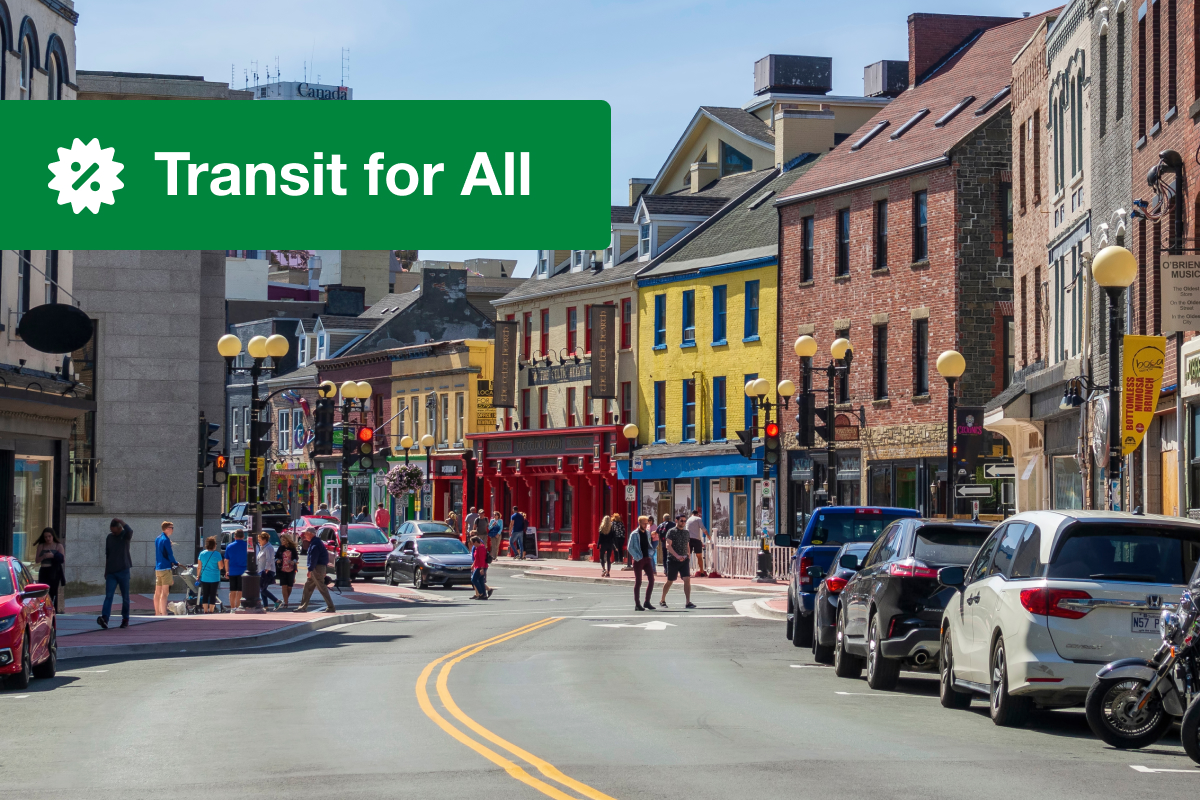 Low Income Transit Passes for Newfoundland and Labrador