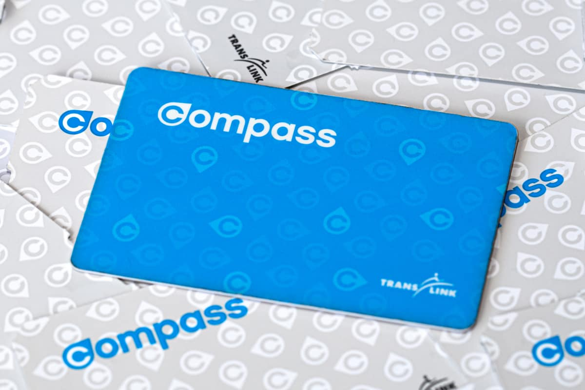 Compass card for Translink