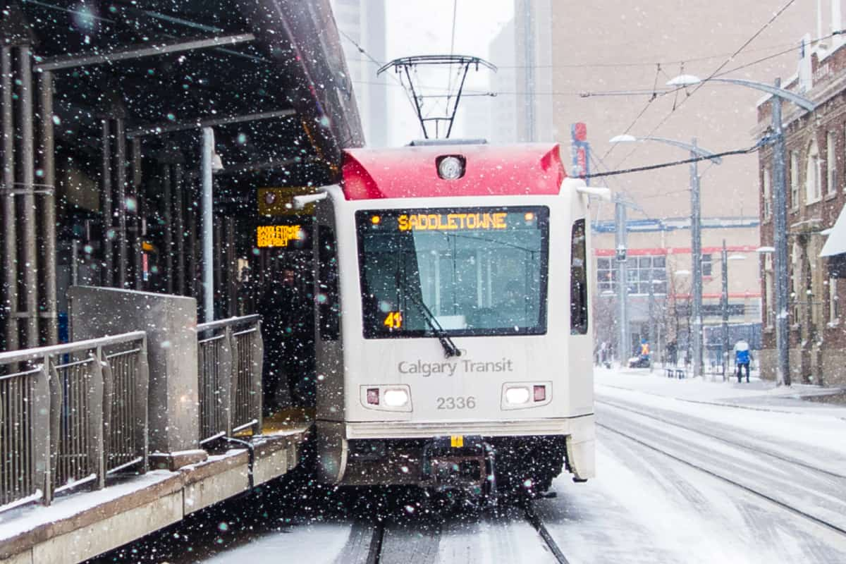 Holiday 2020 Transit Schedule Changes for Calgary