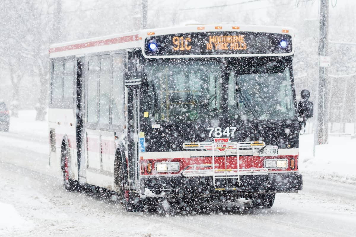 Holiday 2020 Transit Schedule Changes for Toronto and Surrounding Area